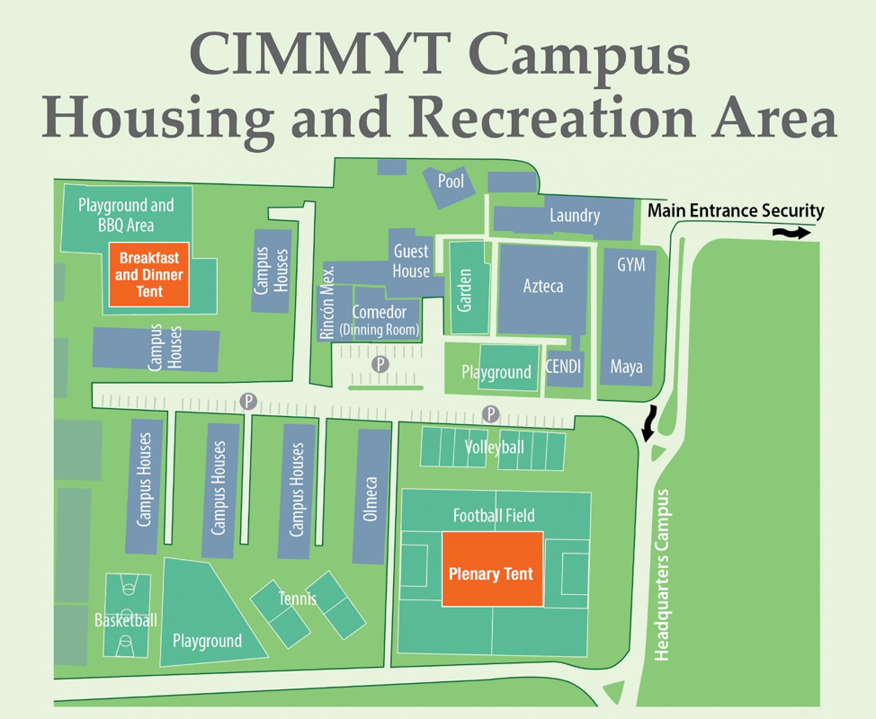 CIMMYT Housing and Recreation Area